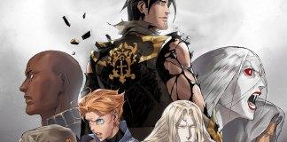 Imagem promocional de Castlevania 4