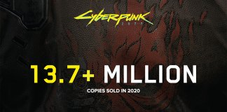 Cyberpunk 2077 vendeu 13.7 milhões de cópias em 2020