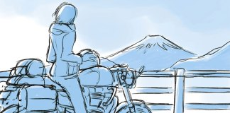 Eiga Yuru Camp teaser visual moto
