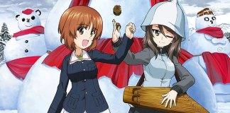 Imagem promocional do 3º filme de Girls und Panzer das Finale