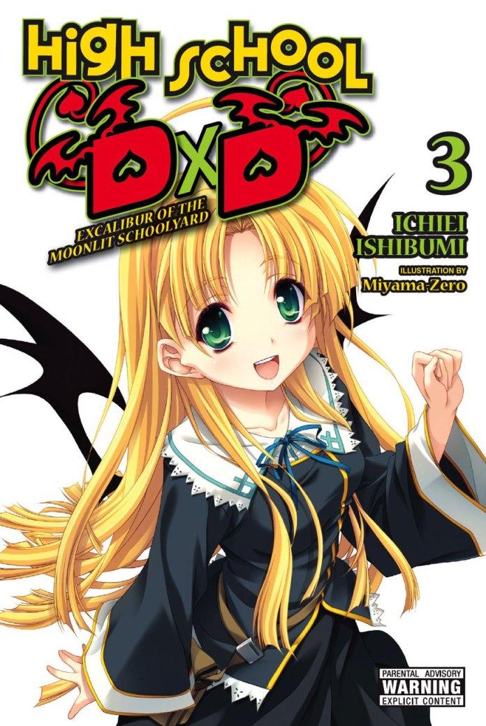 High School DxD vol 3