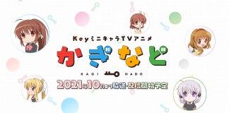 Anunciada série anime Kaginado
