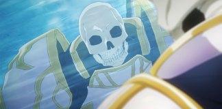 Trailer revela série anime de Skeleton Knight in Another World