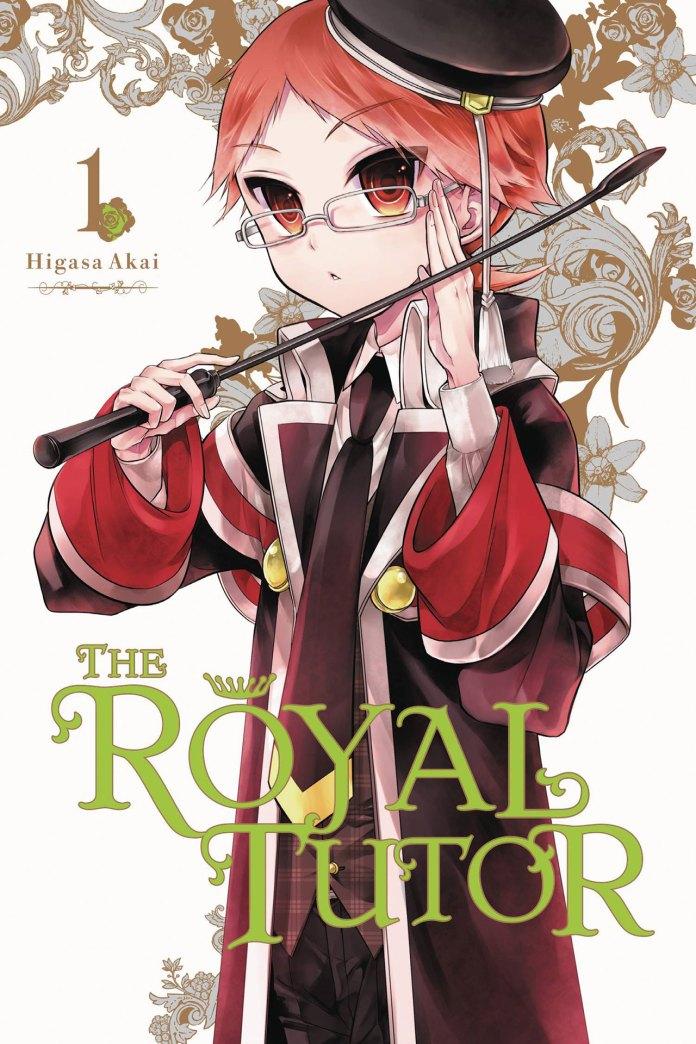 The Royal Tutor volume 1 cover