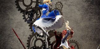 Shirou Emiya e Saber pela Aniplex Plus