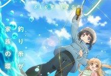 Anime de pesca Slow Loop vai estrear em janeiro 2022
