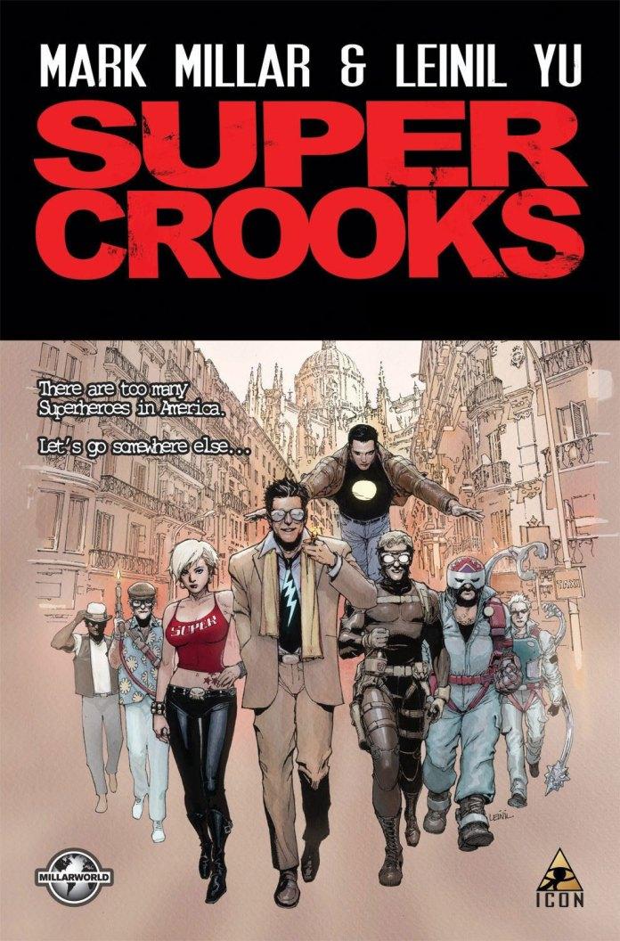 Super Crooks cover