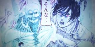 Trailer do último volume de Attack on Titan