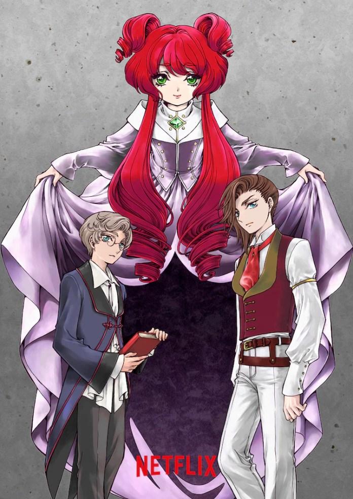 Contos de Grimm anime visual