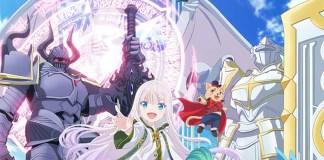 Imagem promocional da série anime Kenja no Deshi o Nanoru Kenja