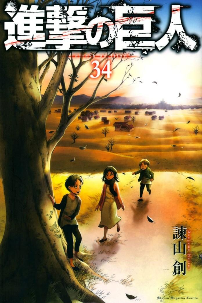 Shingeki no Kyojin Vol. 3