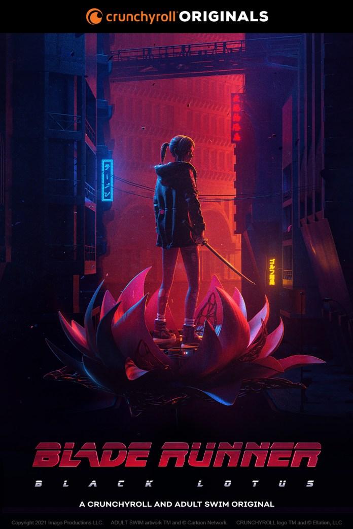 Blade Runner Black Lotus new key visual
