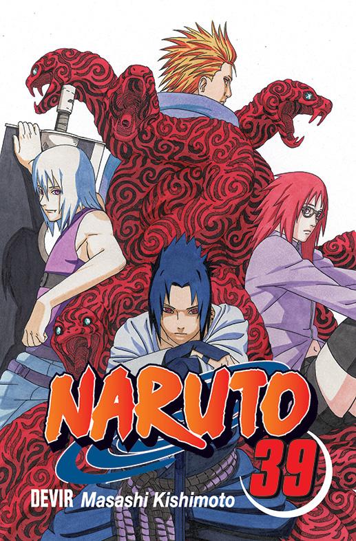Devir vai lançar Naruto 39 capa