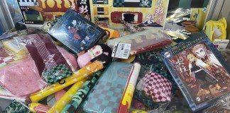Grupo preso por vender produtos não oficiais de Kimetsu no Yaiba