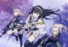 Trailer revela adiamento da série anime Girls' Frontline para 2022