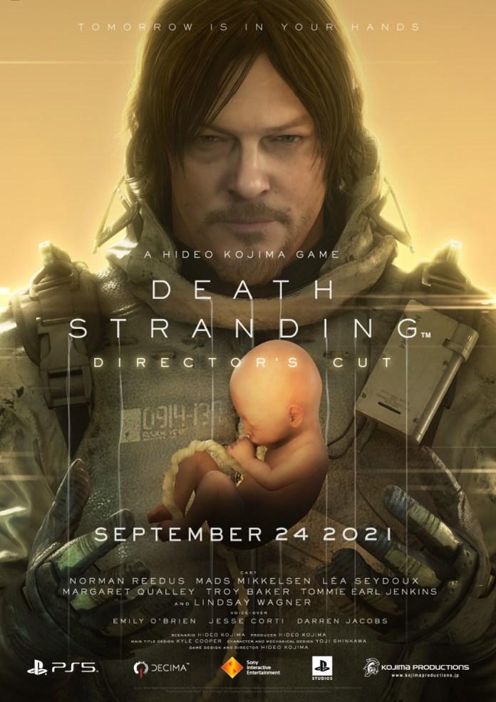 Death Stranding DIRECTOR'S CUT poster