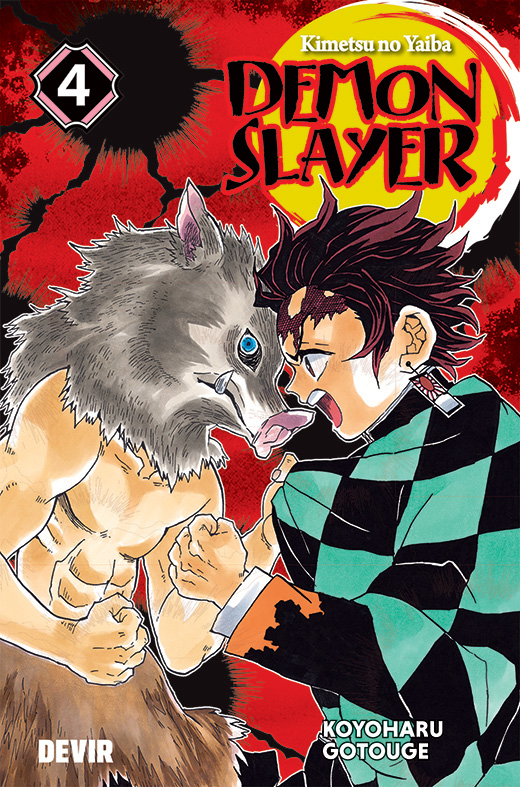 Demon Slayer Volume 4 pela Devir