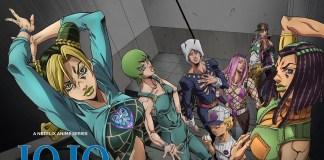 JoJo's Bizarre Adventure: Stone Ocean terá episódios mensais na Netflix