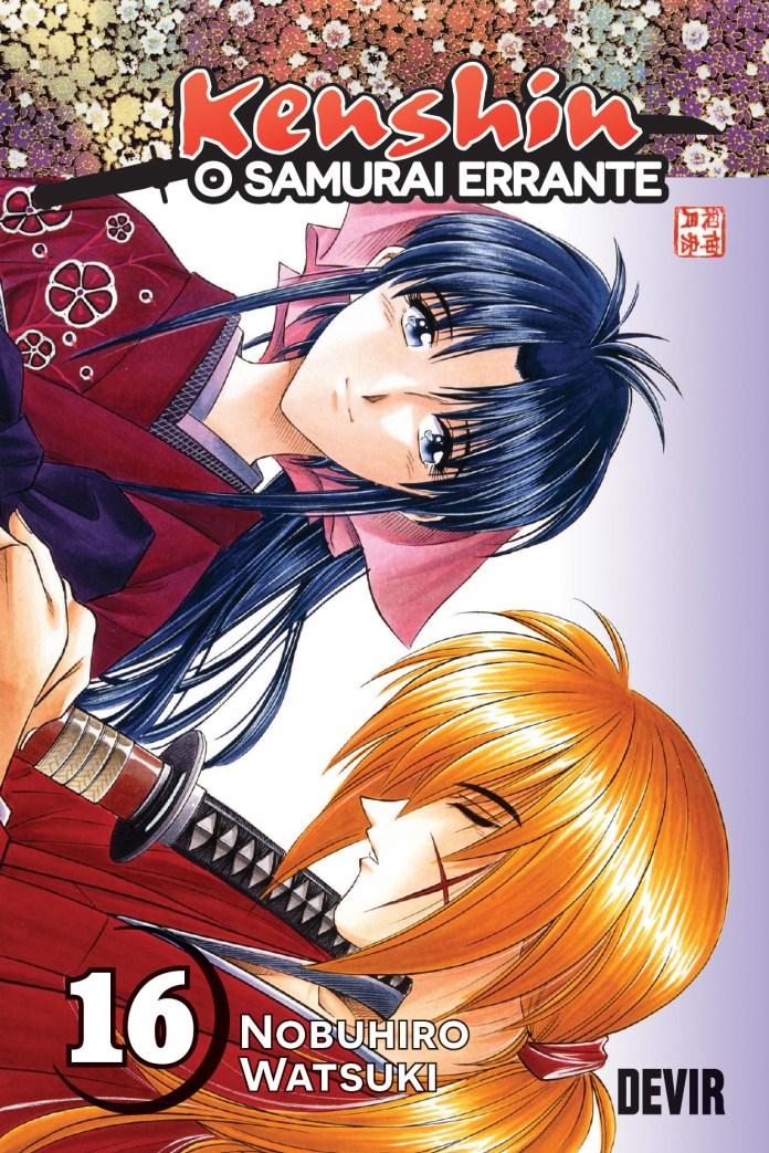 Kenshin, o Samurai Errante Volume 16 pela Devir