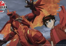 Anime Bakugan: Evolutions no início de 2022