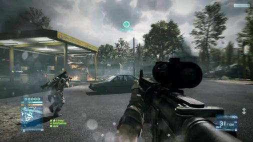Battlefield 3 Review screen 9