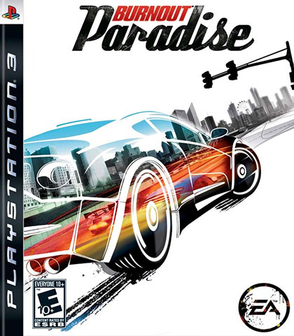 Burnout Paradise Review - PlayStation 3 Box Art