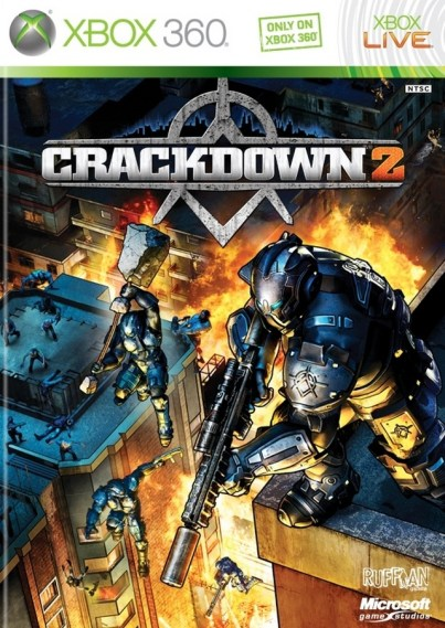 Crackdown 2 Review - Xbox 360 Box Art