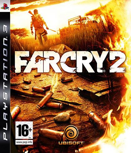 Far Cry 2 Review - PlayStation 3 Box Art