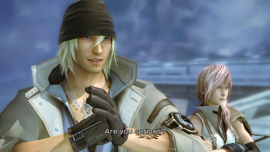 Final Fantasy XIII Review Screen 1