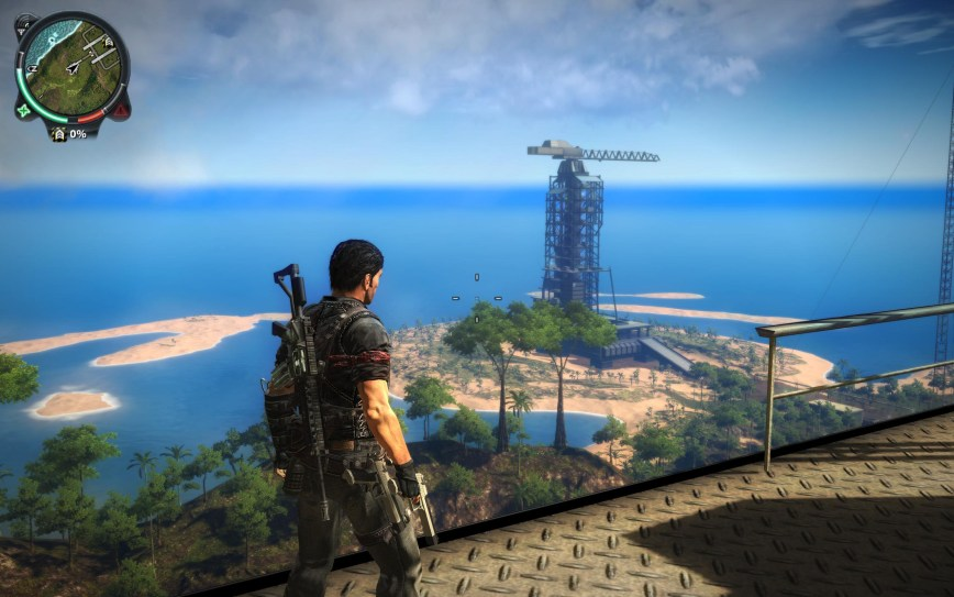 Just Cause 2 Review Screen 1