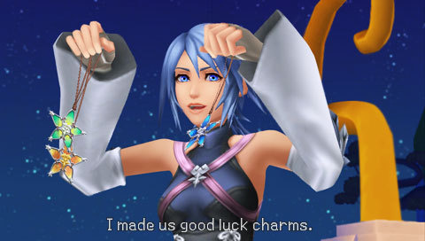 Kingdom Hearts Birth by Sleep Review Screens 5