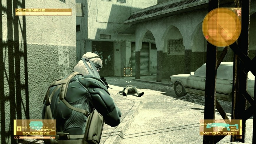 Metal Gear Solid 4 Guns Of the Patriots Screen 8