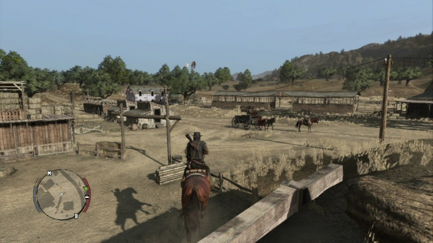 Red Dead Redemption Review Screen 2
