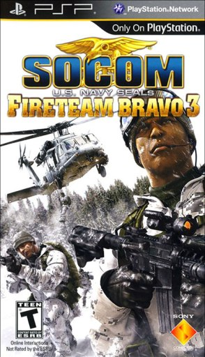 SOCOM Fireteam Bravo 3 Review - PlayStation Portable Box Art