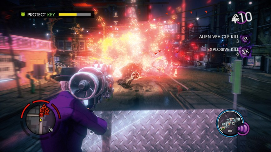Saints Row The Third Review Screen 10