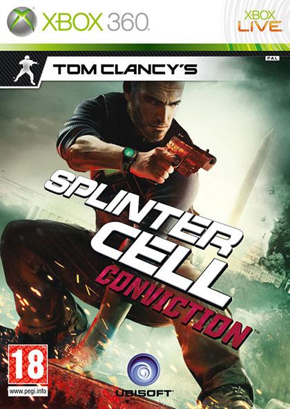 Splinter Cell Conviction Review - Xbox 360 Box Art