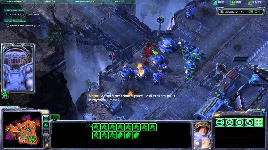 StarCraft II Wings of Liberty Review Screen 7