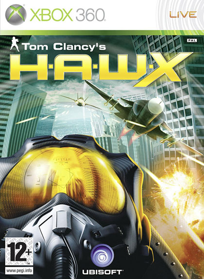 Tom Clancys H.A.W.X Review - Xbox 360 Box Art