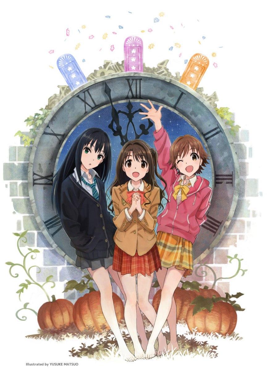 The IDOLM@STER Cinderella Girls Anime Airing Winter 2014-2015 visual