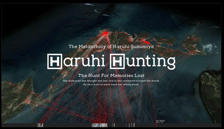 Haruhi Hunting Website Visual 02