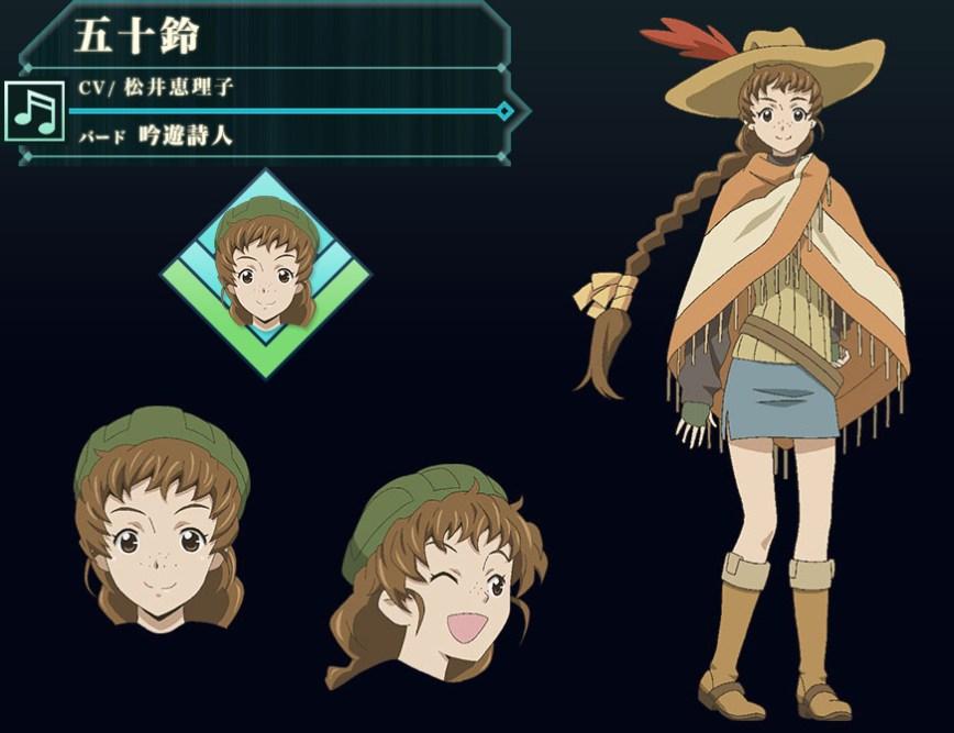 Log-Horizon-Season-2-Character-Design-Isuzu