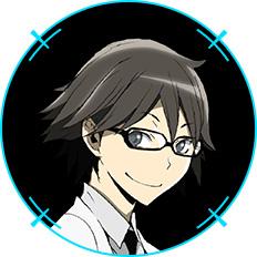 Durarara!!x2-Character-Design-Shinra-Kishitani