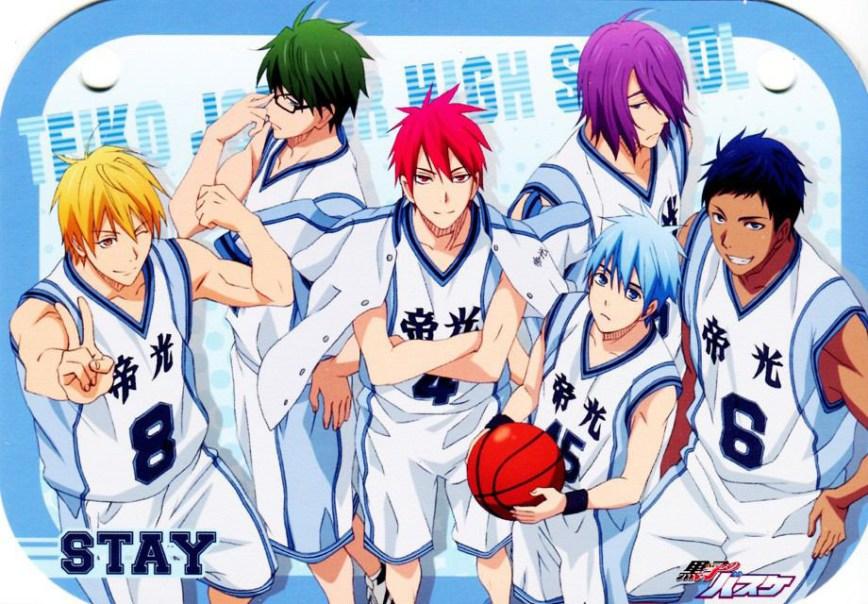 Kurokos basketball sequel manga launching december 29th otaku tale kurokos basketball manga visual voltagebd Images