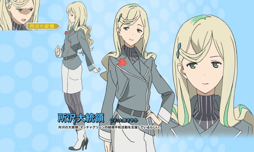 Rolling☆Girls-Character-Design-President of Tokorozawa