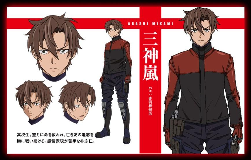 Triage-X-Anime-Character-Design-Arashi-Mikami