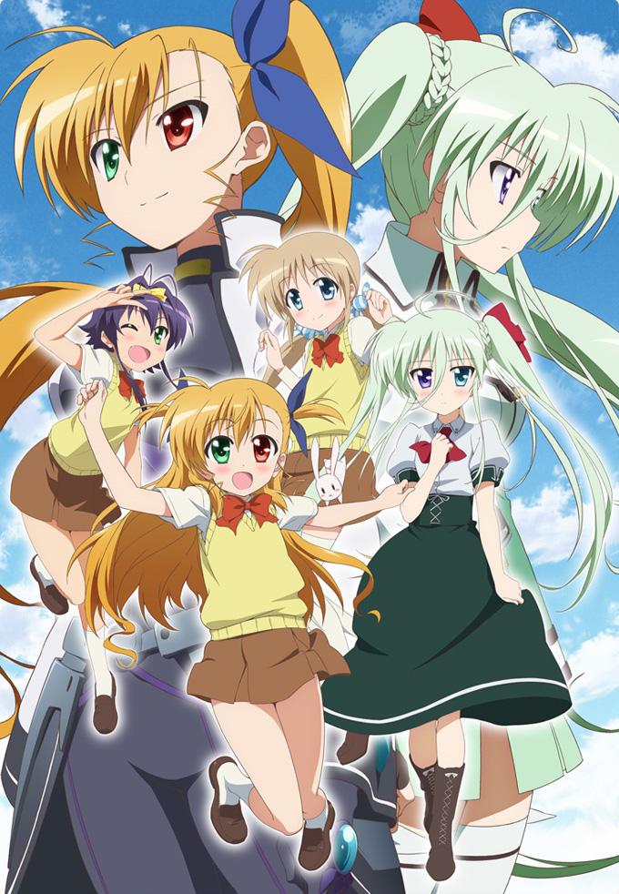 Mahou Shoujo Lyrical Nanoha ViVid Anime Visual 3