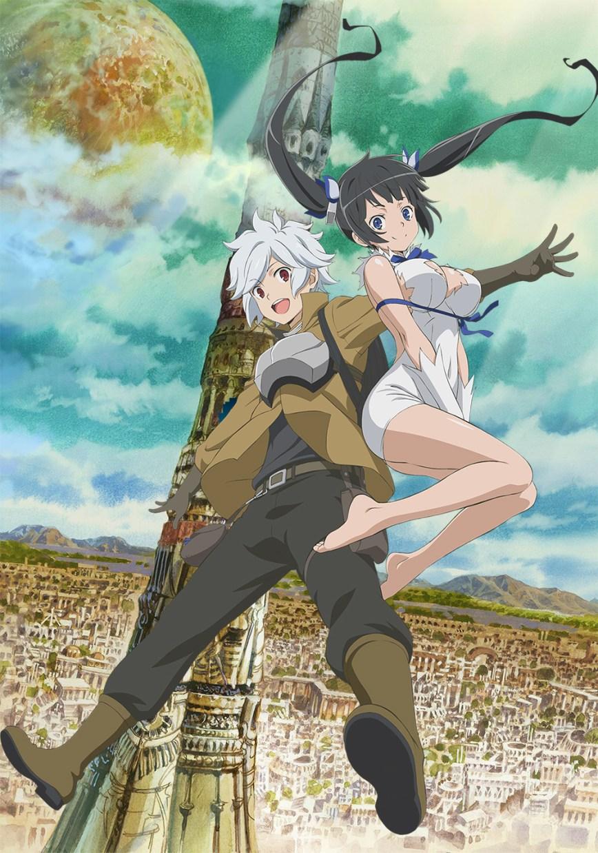 Charapedia Top 20 Anticipated Anime of Spring 2015 #20 Dungeon ni Deai wo Motomeru no wa Machigatteiru Darou ka
