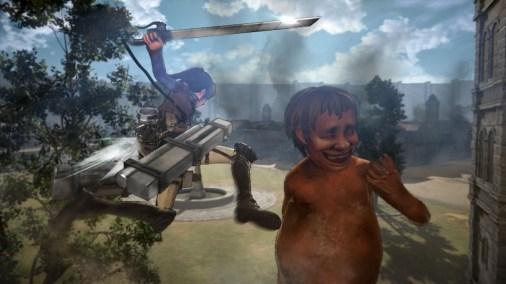 Koei Tecmo Attack on Titan Nov Screenshots 13