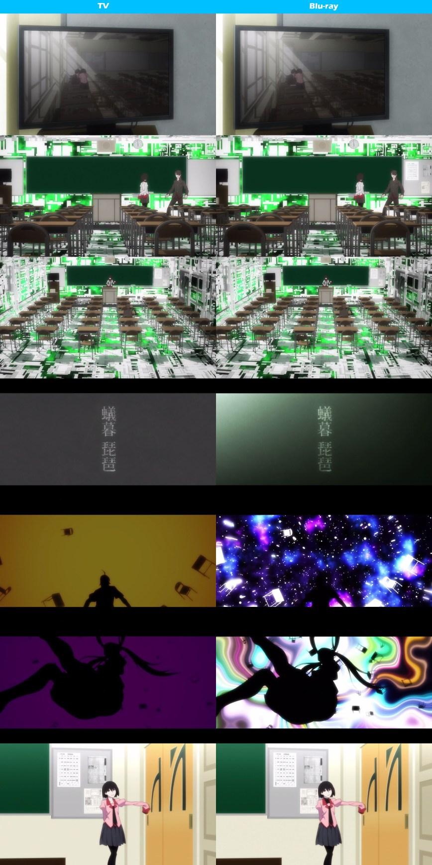 Owarimonogatari-TV-and-Blu-Ray-Comparison-Image