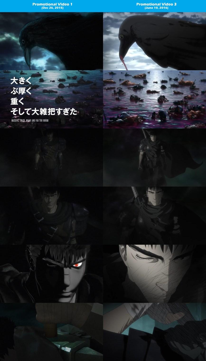 2016-Berserk-Anime-PV-1-vs-PV-3-Comparison-1